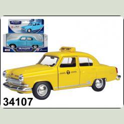 34107W-CIS GAZ 21 VOLGA 1:43  Такси