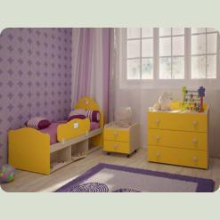 Полный комплект детской спальни Кнопочка-2