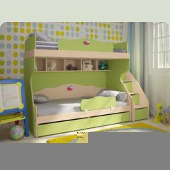 Полный комплект детской спальни Кнопочка-3
