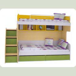 Полный комплект детской спальни СОЛНЕЧНЫЙ ГОРОД
