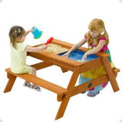 Детская песочница-стол - прекрасное развлечение для детей разного возраста