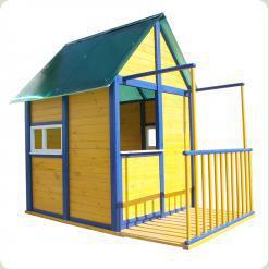 Игровой домик для детей Киндерленд-2