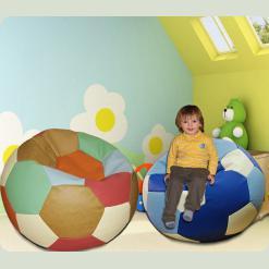 Детский пуфик-мешок Мозайка-мяч