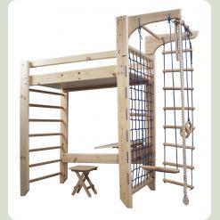 Кровать-чердак-спортуголок
