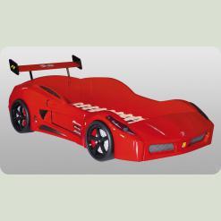 Кровать-машина V7, красная