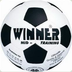 Мяч футбольный WINNER Mid Training № 5 - прекрасный вариант для любительских игр