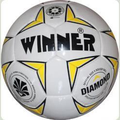 Мяч футбольный  WINNER Diamond - прекрасный вариант для любительских игр