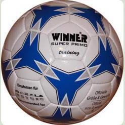 Мяч футбольный WINNER Super Primo № 5  - активно используется для тренировок