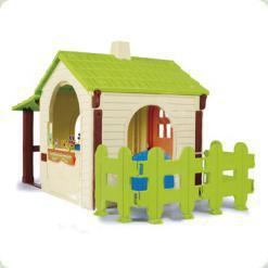 Фермерский домик с заборчиком