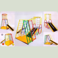 Трансформер 5 в 1 - 5 разных спортивных комплексов для детей