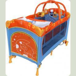 Прямоугольная манеж-кровать Arti Deluxe