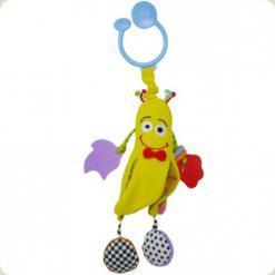 Активная игрушка-подвеска Biba Toys Веселый мистер банан (001GD)