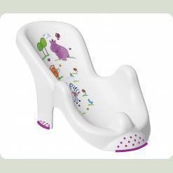 """Анатомическая подставка в ванночку """"Hippo"""" - белый"""