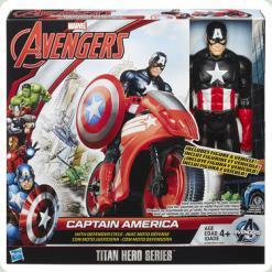 AVN Титаны: Фигурки Мстителей на  транспортном средстве в ассорт
