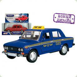Авт 11469W-CIS LADA 2106 1:43 такси