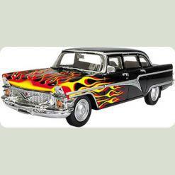 """Автомобиль 1:43 """"ЧАЙКА"""" пламя"""