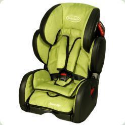 Автокресло BabySafe Sport VIP (9-36кг) - green