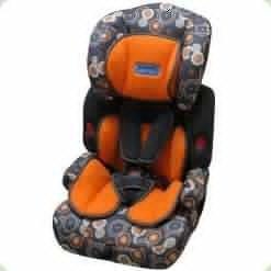 Автокресло Bambi M0522 Orange/Grey