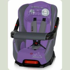 Автокресло Bertoni Bumper Grey & Violet B-Zone