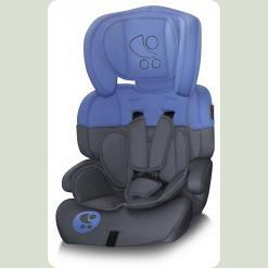 Автокресло Bertoni JUNIOR+ (grey&blue lorelli)