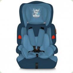 Автокресло Bertoni Kiddy Blue Get The World