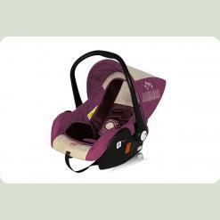 Автокресло Bertoni LIFESAVER (violet&pink flowers)