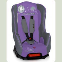 Автокресло Bertoni PILOT (grey&violet b-zone)