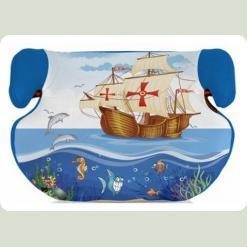 Автокресло Bertoni TEDDY 15-36 (blue ship)
