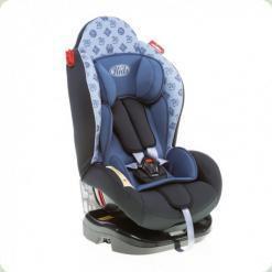 Автокресло Kids Life 0-25 kg Темно-серый с голубым (BS01-S31 (4465C-2855-04))