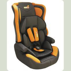 Автокресло Log's seat - orange blue - (1/2/3)