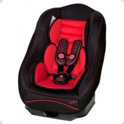 Автокресло Nania 0/1 (0-18 кг) RIDER SP LUXE (красный/черный)