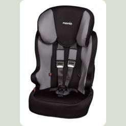 Автокресло Nania 1/2/3 (9-36 кг) RACER SP (Black / Dark Grey)