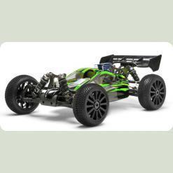 Автомобиль Багги 1:8 Himoto Firestorm N8XB NITRO (зеленый)