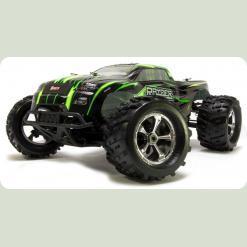 Автомобиль Монстр 1:8 Himoto Cluster N8MT NITRO (зеленый)