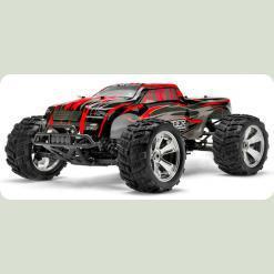 Автомобиль Монстр 1:8 Himoto Raider MegaE8MTL Brushless (красный)
