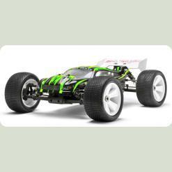 Автомобиль Трагги 1:8 Himoto Ziege MegaE8XTL Brushless (зеленый)