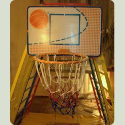 Баскетбольное кольцо для спорткомплексов Непоседа, Спартакус, Лиана
