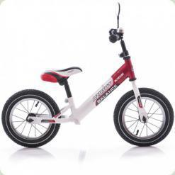 "Беговел Azimut Balance Bike Air 12"" Красно-белый"