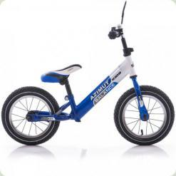 "Беговелы Azimut Balance Bike Air 12"" Сине-белый"