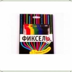 Безопаски Фиксель большой 200х16мм 5 цветов