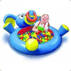 Большой бассейн Play WOW Слоненок с кольцами (3061PW)
