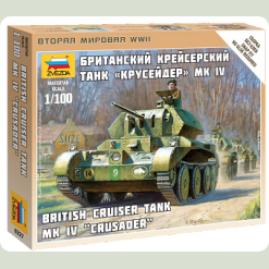 "Брит. крейсерский танк ""Крусейдер"" MK IV"