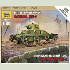 "Британский средний танк ""Матильда МК-I"""