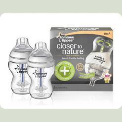 Бутылочка для кормления антиколиковая (2Х260 мл)