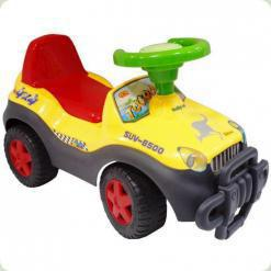 Детская каталка Bambi LBL 603-MY Желто-зеленая (M0527-2)