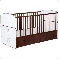 Детская кровать-трансформер Klups Bartek II Zyrafкa с ящиком