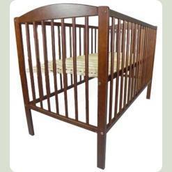 Детская кроватка Klups Radek II без ящика Орех