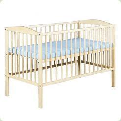 Детская кроватка Klups Radek II без ящика Сосна