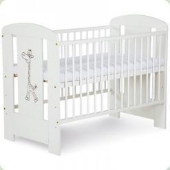 Детская кроватка Klups Safari Zyrafka Белый