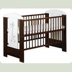 Детская кроватка Klups Safari Zyrafka